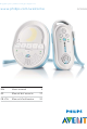 Philips AVENT SCD505 User Manual