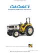 Cub Cadet 8354 Service Manual