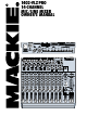 Mackie 1402-VLZ PRO Owner's Manual