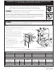 Kenmore ELECTRIC WALL OVEN Installation Instructions Manual