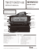 Kenwood TM-D710A Service Manual