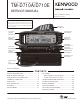 Kenwood TM-D710A Service Manual