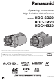 Panasonic HDC-SD20 Operating Instructions Manual