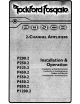 Rockford Fosgate P200.2 Installation And Operation Manual