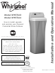 Whirlpool WHES40 Installation And Operation Manual
