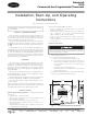 Carrier Debonair 33CS Installation, Start-up, And Operating Instructions