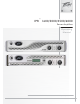 Peavey IPR 1600 Operating Manual