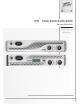 Peavey IPR 1600 Operating Manual