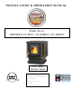 England's Stove Works 25-PDV Installation & Operation Manual