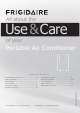 Frigidaire Portable Air Conditioner Use & Care Manual