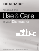 Frigidaire Dishwasher Use & Care Manual