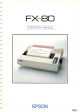 Epson FX-BO Operation Manual