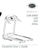 Horizon Fitness CST3 User Manual
