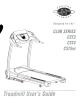 Horizon Fitness CST3 User Manual