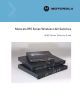 Motorola RFS Series System Reference Manual