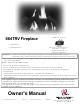 Travis Industries 864TRV Owner's Manual