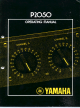 Yamaha P2050 Operating Manual