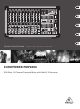 Behringer EUROPOWER PMP2000 Quick Start Manual