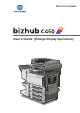 Konica Minolta Bizhub C450 User Manual