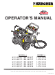 Kärcher DG-232437 Operation Manual