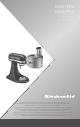 KitchenAid KSM2FPA Instructions Manual