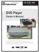 CyberHome CH-DVD 300 Owner's Manual