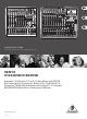 Behringer Xenyx X1832USB Quick Start Manual