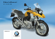 BMW R 1200 GS Rider's Manual