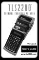 Brady TLS2200 User Manual