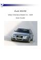 Audi A6 User Manual