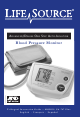 LifeSource UA-767 Plus Instruction Manual