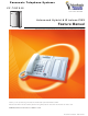 Panasonic KX-TAW848 Feature Manual