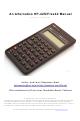 HP HP-42S Manual