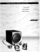 Bose Companion 3 Owner's Manual