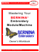 Bernina Embroidery Module Owner's Manual