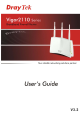 Draytek Vigor 2110 User Manual