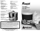 Amaircare Roomaid Instruction Manual