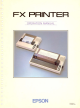 Epson FX-80 Operation Manual