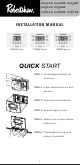 Robertshaw RS4110 Installation Manual
