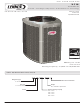 Lennox XC16 Specification