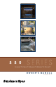 Sundance Spas Altamar 880 series Owner's Manual