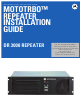 Motorola MOTOTRBO DR 3000 repeater User Manual