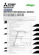 Mitsubishi FR-F700 Series Instruction Manual