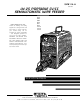 Lincoln Electric LN-25 Service Manual