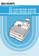 Sharp XE-A207W Instruction Manual