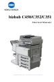 Konica Minolta bizhub C450 Shortcut Manual