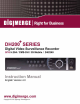 Digimerge DH200+ Series Instruction Manual
