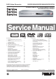 Philips DVDR3350H Service Manual