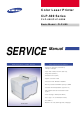 Samsung CLP-600 Series Service Manual