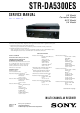 Sony STR-DA5300ES Service Manual